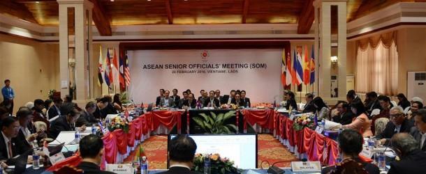 ประชุมเจ้าหน้าที่อาวุโสอาเซียน ณ กรุงเวียงจันทน์
