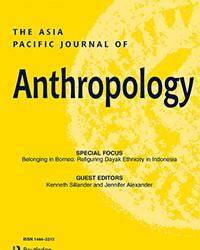 บทความเกี่ยวกับอาเซียนจาก The Asia Pacific Journal of Anthropology (2011-2016)