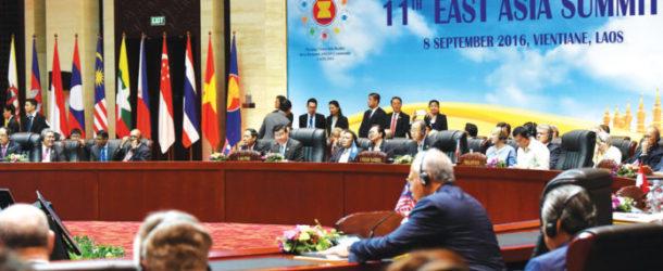 ประชุมสุดยอดเอเชียตะวันออก (EAS Summit) ครั้งที่ 11 ที่ สปป.ลาว