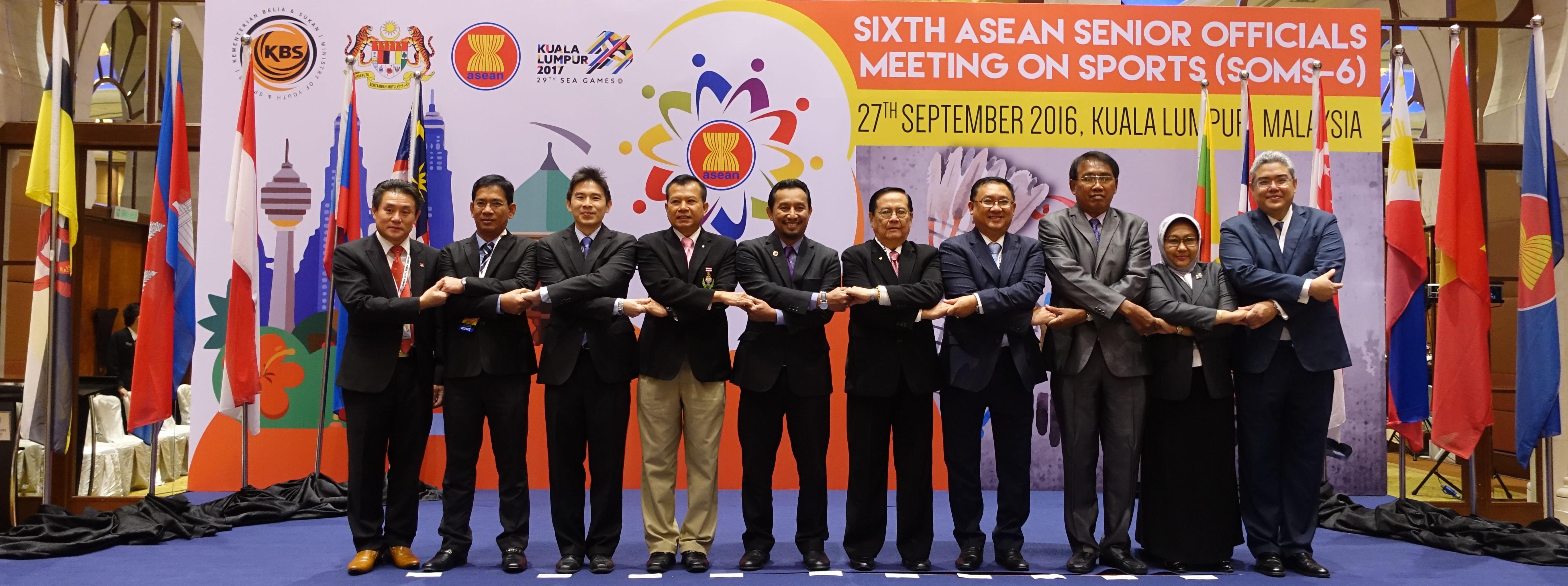 อาเซียนผลักดัน '8 สิงหาฯ' เป็นวันกีฬาของอาเซียน
